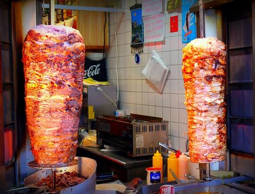 Kebab's meat