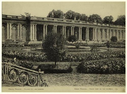 012-Gran Trianon vista parcial de los jardines