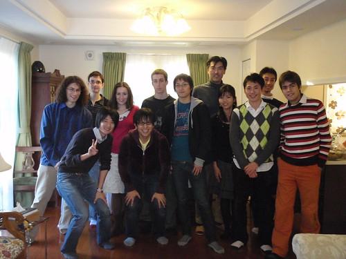 Comida de Navidad con el Prof. Itoh