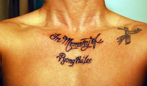 tattoo by ogodei00. In Loving Memory of my Dad!! Anyone can see this photo