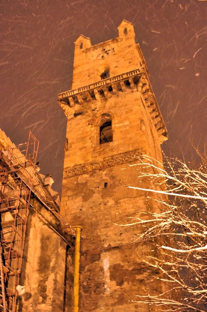 Turnul Bisericii Evanghelice Bistrita