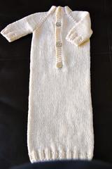 Ravelry Mrs Brak S Dawstring Bottom Baby Kimono With