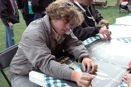 Poster Signing: Andrew Hess