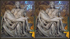 The Pieta, by Michelangelo