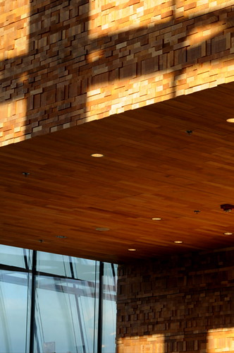 Sustainable BC Hemlock, Stacked Interior Walls, Vancouver Convention Centre