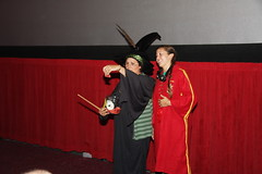 Quidditch Player and McGonagall