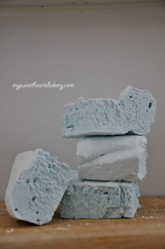 Fluffy Blue Marshmallow Recipe