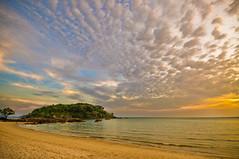 The Bay (trekker308) Tags: sunset sky clouds evening nikon malaysia langkawi nikkor d90 buraubay 1224nikkor