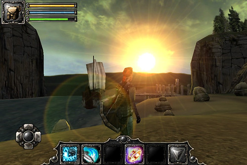 """Aralon: Sword and Shadow HD""画面キレイだなぁ。"