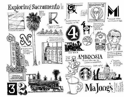 Sacramento Sketch