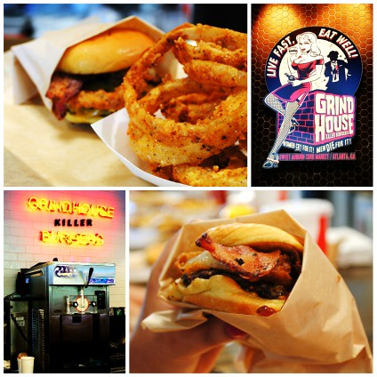 Sweet Auburn Curb Market (Atlanta, Georgia) - Grind House Burger Collage
