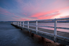 | Sunset at Lake Illawarra |      | (Taha Elraaid) Tags: sunset lake beautiful wales canon photography image australia nsw 7d heights  taha wollongong  twop illawarra  2011      lakeheights elraaid