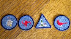 badges  IC 26  Camp Craft