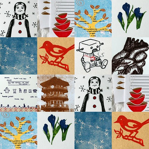 Mid-Winter Gocco Swap Collage