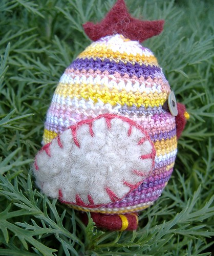 easter chick (side view)