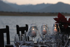 Dinner at the water (by Louis Rossouw)