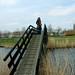 Atop a bridge at Broek op Langedijk