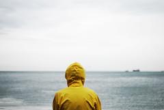 Yellow (Levan Kakabadze) Tags: sea sky colour yellow georgia fisherman ships streetphotography blacksea afterrain batumi nikkor50mm silance nikond80 artlibres wwwlevankakabadzecom