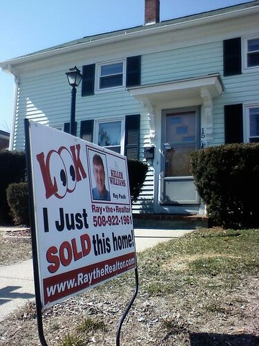 We sold our house