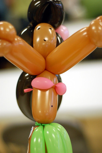 Balloon Hula Girl
