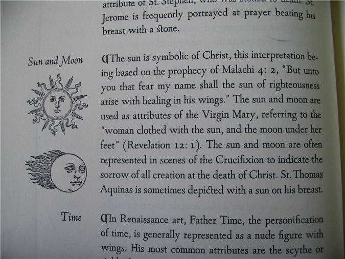 "Excerpt from ""Signs and Symbols in Christian Art"""