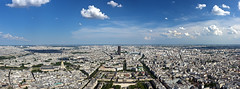 80 Megapixel Paris (h.andras_xms) Tags: city sky panorama cloud sun paris building canon landscape big highresolution europe eiffel resolution 1ds cloudporn megapixel birdview markiii handras wwwhandrashu wwwxmshu httpxmshu