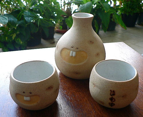 potato sake set