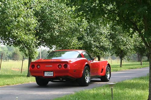 1980 L-82 Corvette rear