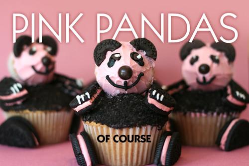 Pink Oreos = Pink Pandas