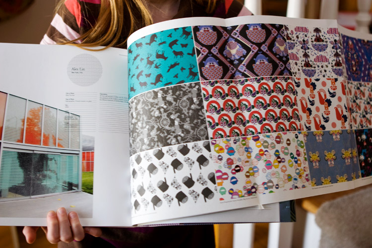simply pattern book fold-out