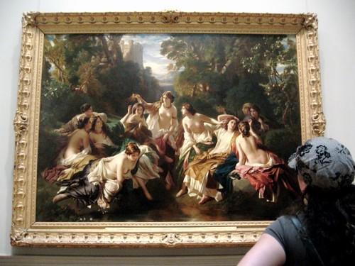 art met women