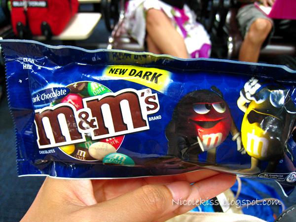 dark m&m