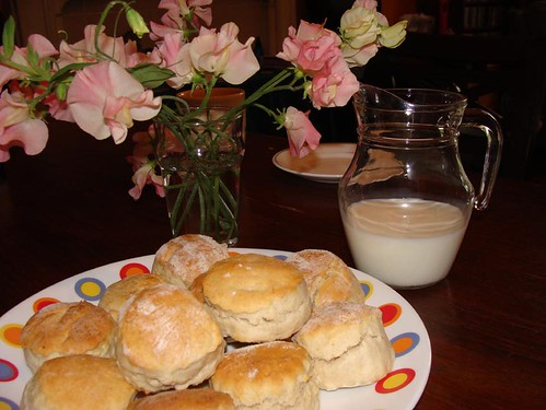 Cream Tea and Sweetpeas