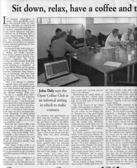 OpenCoffee in Examiner