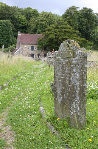 Graveyard at Margam Abbey