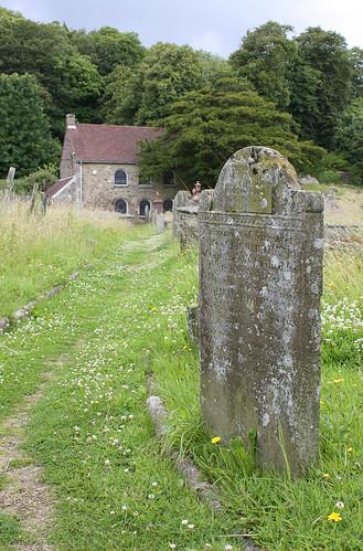 Graveyard at Margam Abbey