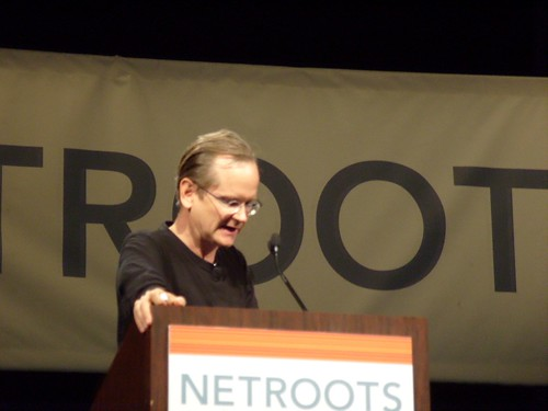 Lessig at Netroots Nation 2008 by tombrown91, on Flickr
