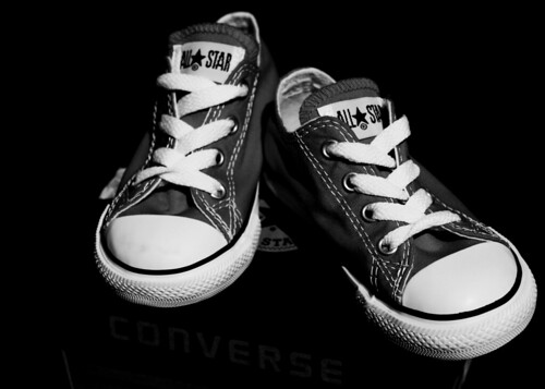 24/356: Ian's First Converse Shoes