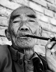 Dali, Yunnan (mexadrian) Tags: china street portrait blackandwhite trix 6x7 yunnan dali 67 plaubel makina