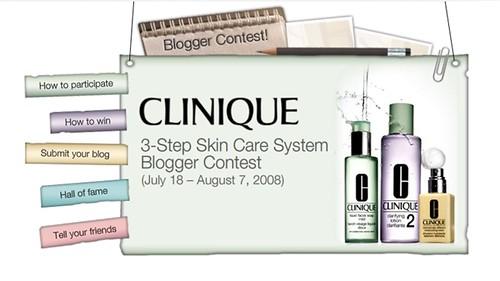Clinique Malaysia Blogger Contest