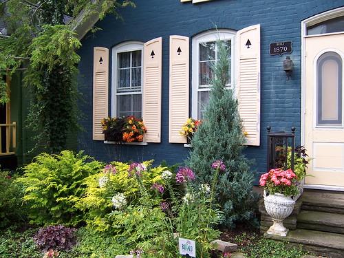English Garden Front Yard Design Pictures