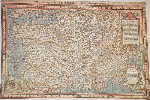 political maps of france. France Political Map