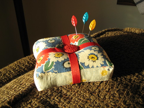 Heather Bailey pincushion