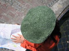 IMG_4070 (annekuolukito) Tags: english hat knitting driving pattern ivy cap crafty morgan knitty diversions craftydiversions annekuolukito