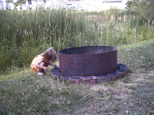 Mellon and the Fire Pit