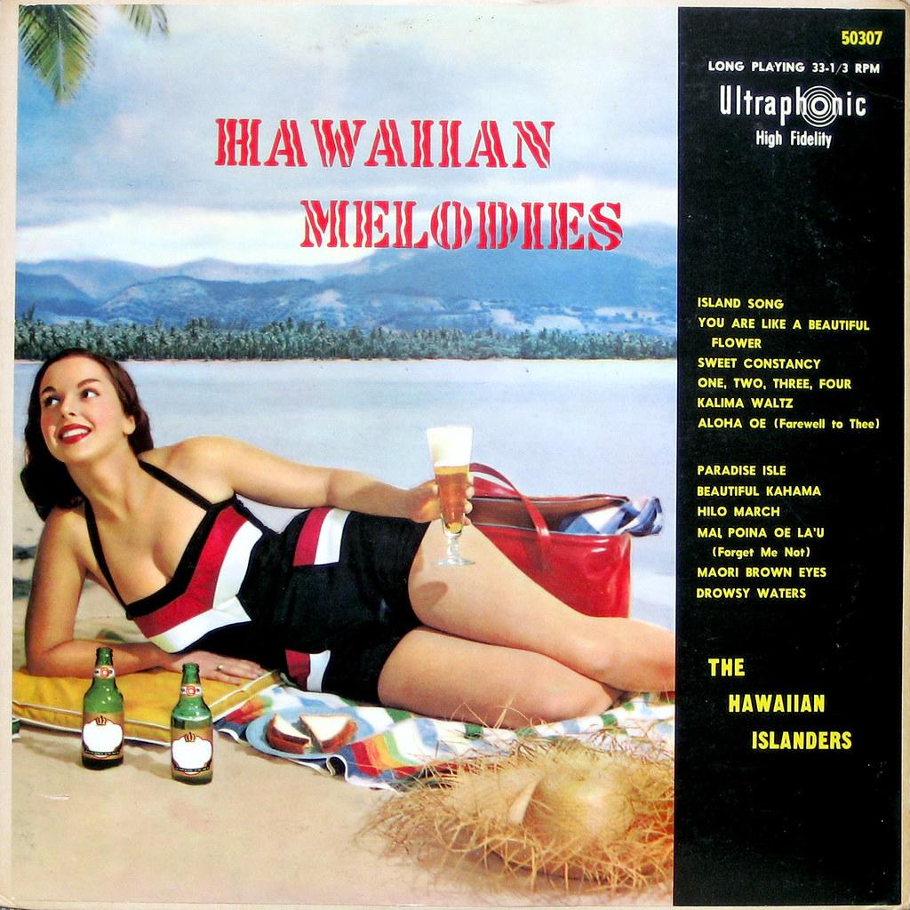Hawaiian music vintage lp