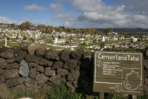 Cementerio Tahai, Rapa Nui.