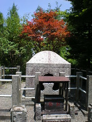 Dengyō Daishi (Saichō) shrine at summit of Mt. Hiei, Kyoto