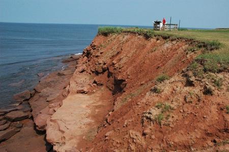 Cliffs at Cavendish