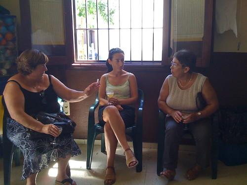 Marce, Marga, and Antonia